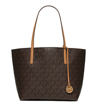 Hayley Large Tote - BROWN/PEANUT - 30H5GH3T7V