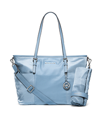 Jet Set Large Nylon Diaper Bag - LIGHT SKY - 30H5STTT4C