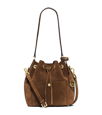 Greenwich Suede Bucket Bag - CARAMEL - 30H5TGRM2S