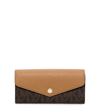 Greenwich Color-Block Wallet - BROWN/PEANUT - 32H5GG1E1B