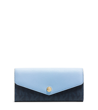 Greenwich Color-Block Wallet - BL BLUE/LIGHT SKY - 32H5GG1E2B