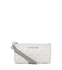 Jet Set Travel Medium Wristlet - PEARL GREY - 34H5STVW2V